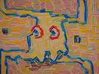 Pac-man in transit to (part.)